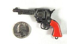 vintage 1970's miniature western revolver  working VICTORY cap gun  key chain