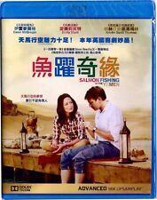 "Ewan McGregor ""Salmon Fishing In The Yemen"" Emily Blunt Romance Region A Blu-Ray"