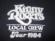 1984 Kenny Rogers Crew Concert Tour (Youth Lg) T-Shirt
