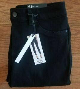 """NEW Skinny D. Jeans LONG 28"""" ANKLE 26"""" CAPRI24"""" High waist skinny Blue Jeggings"""