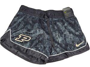 Purdue University Nike Dri-Fit Women's Basketball Shorts Elastic Waist Medium