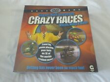 STUART HALL PRESENTS CRAZY RACES WHEELS, WINGS & WATER FUN FAMILY GAME - NEW