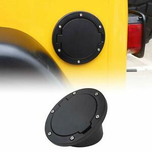 Non-Locking TJ Gas Cap Cover Fuel Door for 1997-2006 Jeep Wrangler TJ  A
