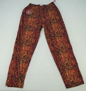San Francisco 49ers NFL Zubaz Men's Speckled Pants