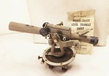 Vtg Wards Powr Craft 6497 Transit Level Scope Survey Tool Usa