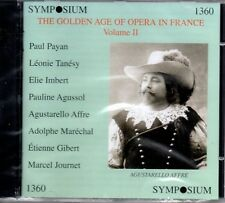 PAYAN - TANESY - IMBERT - AFFRE - GOLDEN AGE OF OPERA IN FRANCE VOLUME TWO