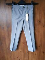 RRP £19 - JOHN LEWIS HEIRLOOM TROUSERS Boys Grey Suit 2 Years / 92cm - NEW