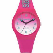 Superdry Ladies Womens Campus Pink Wrist  Watch SYL198PN