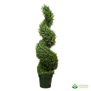 Artificial Fake Plants Rosemary Spiral Tree 1.2m