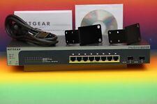 Netgear GS510TP PoE ◄ ProSafe 8-Port Gigabit Smart Switch 2x SFP Port Netzwerk