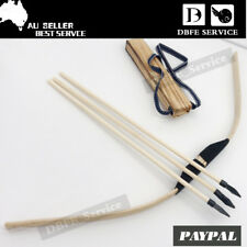 New Toy Wooden Bow And Arrow Outdoors Archery Cosplay Gift Children Sports AU