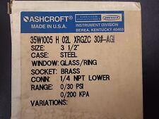 New Ashcroft Pressure Gauge 35W1005 H 02L XRGZC
