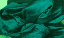 PEACOCK TEAL GREEN 100% DUPIONI SILK FABRIC WHOLESALE BOLT ROLL 32 YARDS