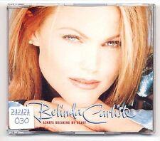 Belinda Carlisle Maxi-CD always Breaking My Heart-RARE Dutch (not UK) 4-Track