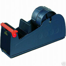 """WIDE BENCH TAPE DISPENSER PARCEL PACKING SELLOTAPE TAKES LARGE 50mm & 2"""" ROLLS"""