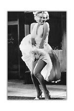 Iconic Marilyn Monroe Subway Shoot Poster Prints Wall Decoration Art Pictures