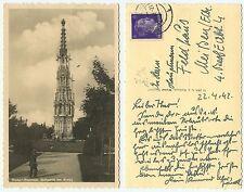 33735 - Wiener-Neustadt- Spinnerin am Kreuz - Echtfoto - AK, gelaufen 24.4.1942