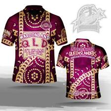 State of Origin Qld Indigenous Mens polo shirt