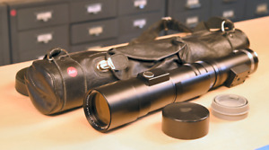 Leitz Leica Telyt 400mm f/6.8 Lens Near Mint with case for Leica M and Leica R