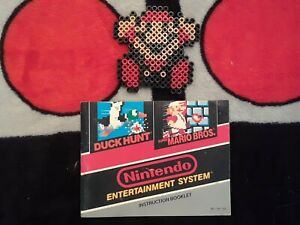 NES Super Mario Bros/Duck Hunt Nintendo Original Manual/Instruction Booklet!