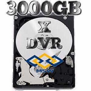 "HARD DISK HD 3000GB 3TB 7200RPM SATA 3.5""SISTEMI DI VIDEOSORVEGLIANZA DVR NVR"
