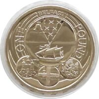 2010 Capital Cities of the UK Belfast BU £1 One Pound Coin Uncirculated