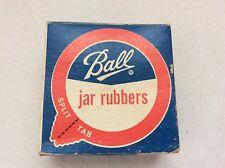 Vintage 1975 Ball Jar Rubbers Split Tab   10 in box  Blue Book 29th Edition Ad