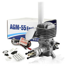 New AGM55 55cc Gasoline Engine w/CDI VS. DLE55 Gas Engine+2 Year Warranty