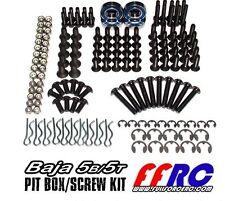 1/5 Baja Pit Box Screw & Parts Kit by Full Force fit 5B 5T SC PredatorRC RV KM