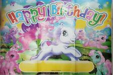 ♛ Shop8 : 1 pc MY LITTLE PONY HAPPY BIRTHDAY WALL BANNER Theme Party Decor