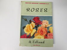 Acceptable - Roses (Amateur Gardening Handbook Series No.6) - Edland, Henry 1953