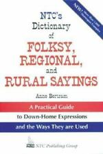 NTC's Dictionary of Folksy, Regional, and Rural Sayings-ExLibrary