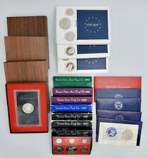 Lot of (19) 1971-1995 United States Proof Sets Original Mint Packaging 58 Coins