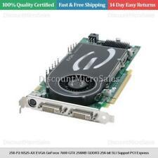 256-P2-N525-AX EVGA GeForce 7800 GTX 256MB GDDR3 256-bit SLI Support PCI Express