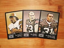2008 Topps Mayo Cleveland Browns TEAM SET