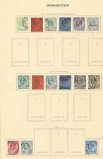 Lot:36724  GB EDVII  Gibraltar collection
