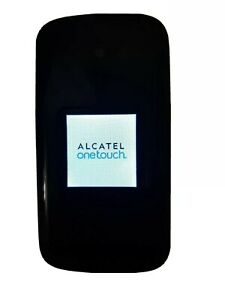 Alcatel One Touch 2017B Flip Sprint Cellular Phone Retro Big Letters Seniors