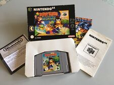 Diddy Kong Racing Nintendo 64 N64 Boxed UK PAL Vintage Console Video Game Retro