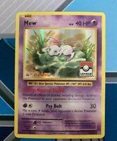 Mew 53//108 - League Promo NM Promo Pokemon 2B3 4th Place