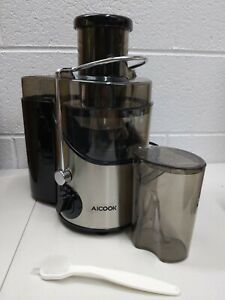 Aicook Juicer Machine with 3'' Wide Mouth, AMR526 New - Open Box