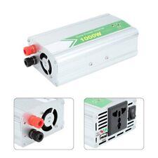 1000W Power Inverter DC 12V to AC Outlet 220V-240V 1 USB Converter with Charger