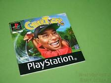 Playstation PS1 Instruction Manual - Cyber Tiger *No Game*