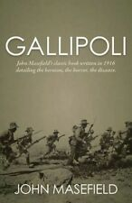 Gallipoli by John Masefield Hardcover Book