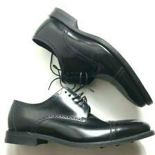 Loake Leather Shoes 0006 Frame Sewn Leather Sole Cap Toe Semi Brogue England