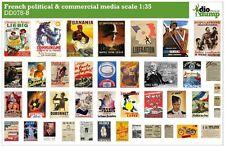 DioDump DD078-B French / France political & commercial media posters ww2 - 1:35