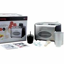 H.koenig Hf250 Máquina de helados volumen 1 5 L control touchpad negro Nj731 C