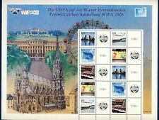 UN VIENNA . 2008 WIPA Personalized Sheet of 10+labels(1.40) Mint Never Hinged