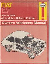 FIAT 127 ( INCL SPORT ) 1971 - 1979 OWNERS WORKSHOP MANUAL