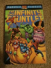 INFINITY GAUNTLET TPB MARVEL'S FINEST MARVEL COMICS VERY RARE OOP