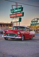 Oldtimer American Motel Diner Blechschild Schild Tin Sign 20 x 30 cm FA0548